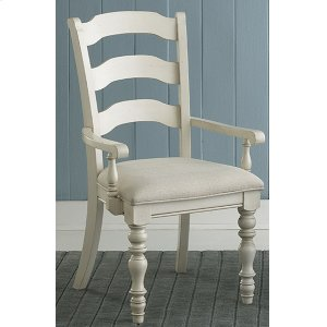 Hillsdale FurniturePine Island Ladder Back Arm Chair - Set of 2