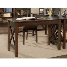 Lexi Work Table in Walnut