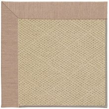 Creative Concepts-Cane Wicker Cast Petal Machine Tufted Rugs
