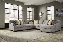 Cresson - Pewter 5 Piece Sectional