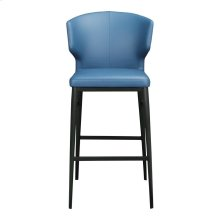 Delaney Barstool Steel Blue