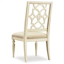 Dining Room Sandcastle Fretback Side Chair - Upholstered Seat