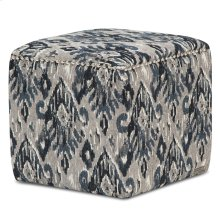 Ashbury Square Accent Ottoman Ind