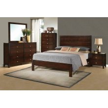 Cameron Transitional Rich Brown California King Bed