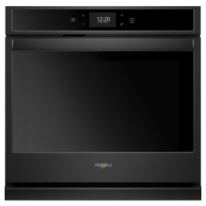 Whirlpool4.3 cu. ft. Smart Single Wall Oven with True Convection Cooking Black
