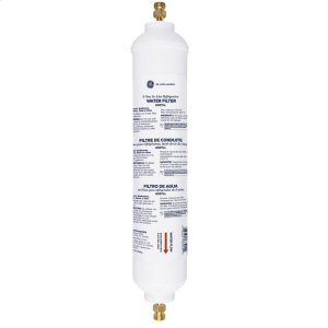GE5-YEAR IN-LINE WATER FILTRATION SYSTEM, FOR REFRIGERATORS OR ICEMAKERS