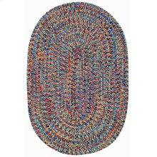 Sea Glass Fiesta Bright Multi Braided Rugs