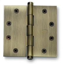 Plain Bearing, Full Mortise Hinge in (Plain Bearing, Full Mortise Hinge - Solid Extruded Brass)