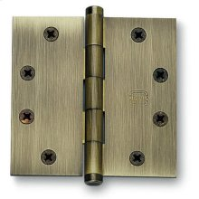 Plain Bearing, Full Mortise Hinge in (Plain Bearing, Full Mortise Hinge - Solid Extruded Brass)