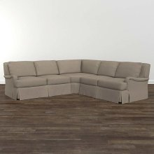 Designer Comfort Exeter Custom Sectional