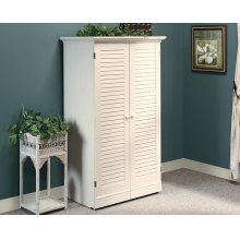 Craft and Sewing Armoire with Table