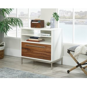 SauderLateral Office File Cabinet with Open Storage