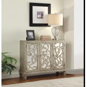 SILVER GRAY CONSOLE TABLE Product Image