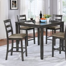 Gloria 5 Pc. Counter Ht. Table Set