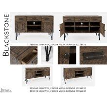 "Blackstone 50"" 3 Drawer, 2 Door Media Console"