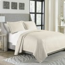 3pc Queen Bed Throw Set Pearl Product Image
