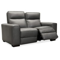 Living Room Braeburn Leather Loveseat w/PWR Recline PWR Headrest Product Image