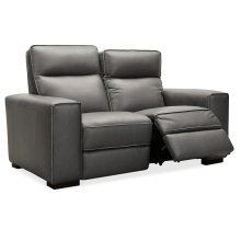 Living Room Braeburn Leather Loveseat w/PWR Recline PWR Headrest