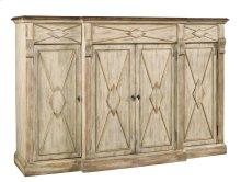 Dining Room Sanctuary 4-Door 3-Drawer Credenza - Dune & Drift