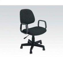 Black Office Chair W/arm @n