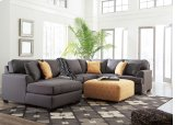 Brioni Nuvella - Gray 3 Piece Sectional Product Image