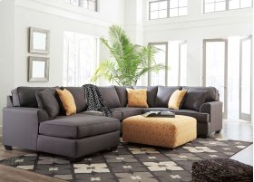 Brioni Nuvella - Gray 3 Piece Sectional