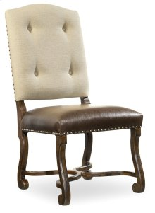 Dining Room Treviso Camelback Side Chair