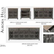 Aurora Hills 2 Door Accent Chest-b. Grey/bisque