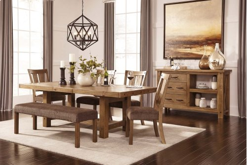Tamilo - Gray/Brown 7 Piece Dining Room Set