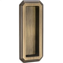 Traditional Flush Pull in (SB Shaded Bronze, Lacquered)