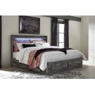 Baystorm - Gray 5 Piece Bed Set (King) Product Image