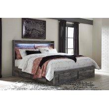 Baystorm - Gray 5 Piece Bed Set (King)