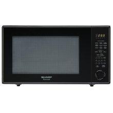 2.2 cu. ft. 1200W Sharp Black Countertop Microwave Oven (R-659YK)