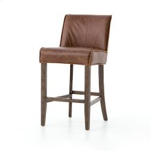 Counter Stool Size Sienna Chestnut Cover Aria Bar + Counter Stool