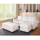 WH REV. SECTIONAL SOFA & OTTOM Product Image