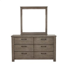 Ruff Hewn 6 Drawer Dresser in Weathered Taupe