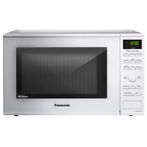 1.2 Cu. Ft. Countertop Microwave Oven with Inverter Technology - White - NN-SD654W - WHITE