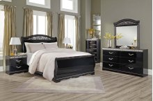 Constellations - Black 5 Piece Bedroom Set