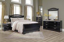 Constellations - Black 5 Piece Bedroom Set
