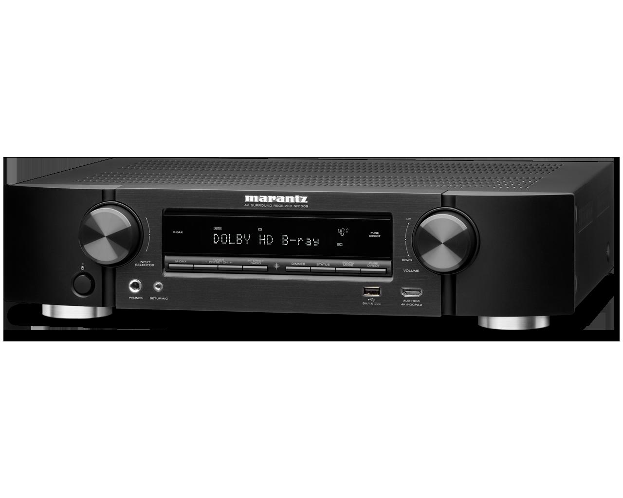 Slim 5.2 Channel AV Receiver with HEOS