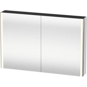 Mirror Cabinet, White High Gloss (decor)