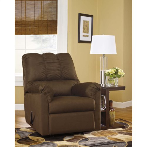 Darcy Rocker Recliner - Cafe