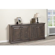"Traditional TV Console 30""H x 15""Deep"