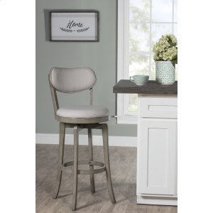 Hillsdale FurnitureSloan Swivel Counter Stool - Aged Gray