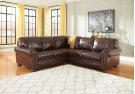 Banner - Coffee LAF Love seat, RAF Sofa Product Image