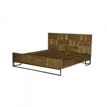Casual Modern Queen Bed
