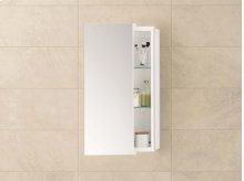 """Mirrored Sliding Door 12"""" x 32"""" Bathroom Wall Cabinet"""