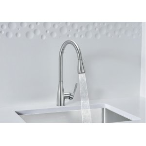 Blanco Atura 1.5 With Pull-down Spray - Polished Chrome