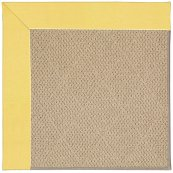 Creative Concepts-Cane Wicker Canvas Buttercup Machine Tufted Rugs