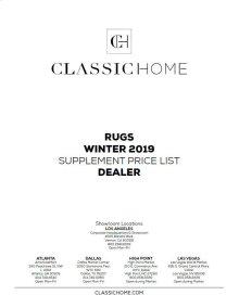 2019 Rug Pricelist Winter - Dealer